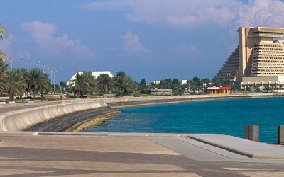 Doha's Waterfront Promenade